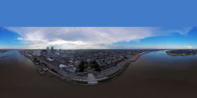 New Orleans 360° Panorama