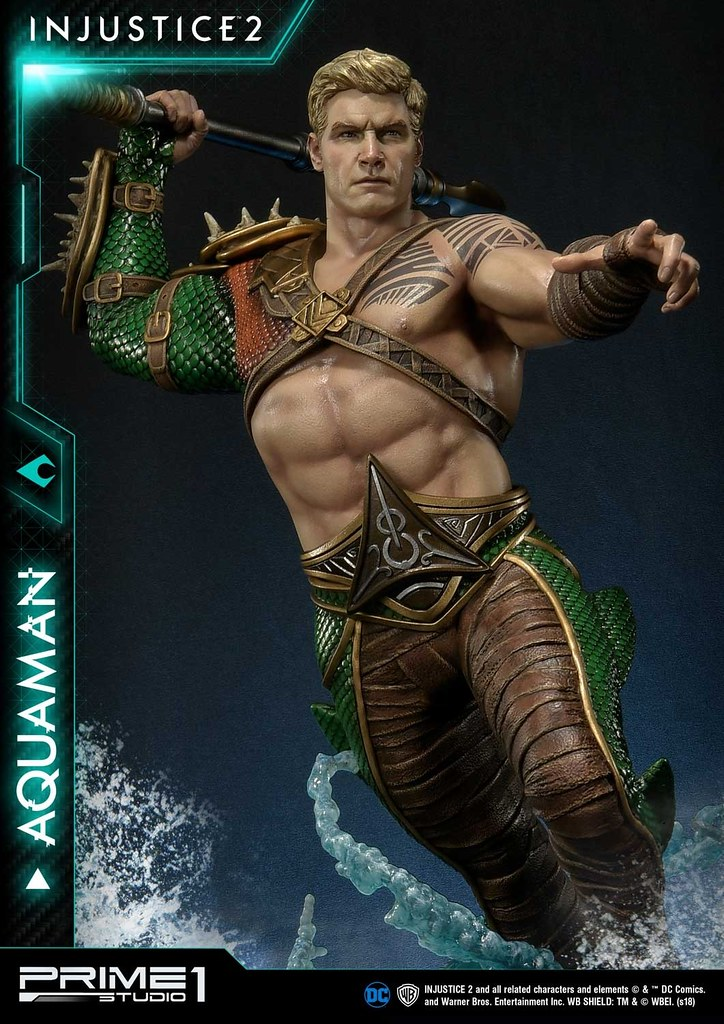 Prime 1 Studio 'Injustice 2' Aquaman PMDCIJ-01 1/4 Scale Statue Regular/Exclusive Edition