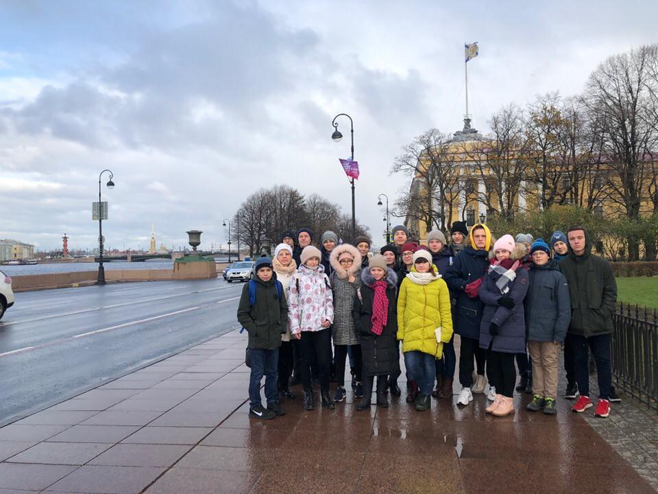Увлекательное путешествие в г. Санкт-Петербург