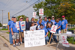 Postal Workers Rally to Save the Public Postal Service Palatine Illinois 10-8-18 4534