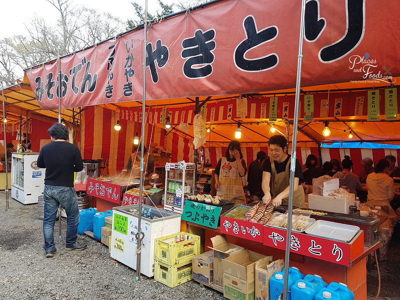 maruyama food stall