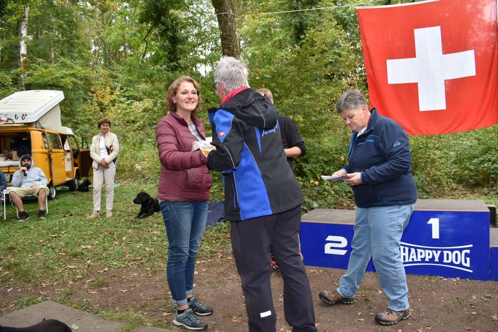 Schweizermeisterschaft der Retriever 07.10.2018