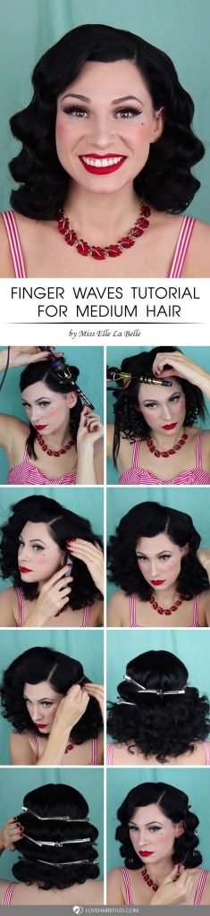 Chic Finger Waves Hairstyles That Are Best Trend 1