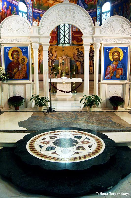 Алтарная часть собора