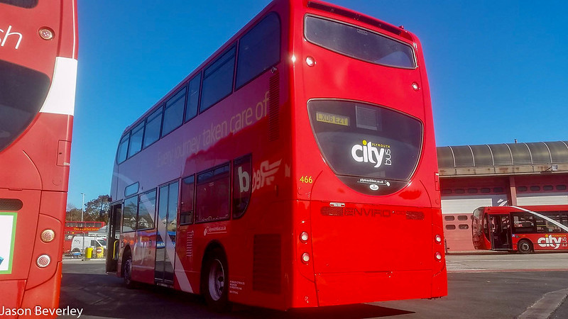 Plymouth Citybus 466 LX06EZT