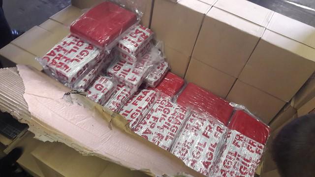 153 kg de cocaïne découvert par la brigade des douanes d'Amiens