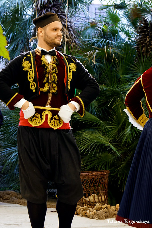 Традиционный бокельский танец