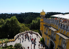 Pena Palace. Sintra, Portugal, October 2018