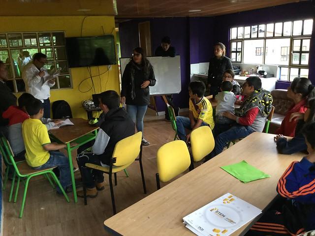 Proyecto STEM con Fundación Chevrolet en Biblioseo