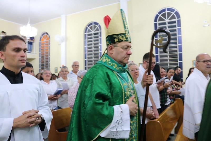 Dom Edmilson instala Área Pastoral São Paulo Apóstolo