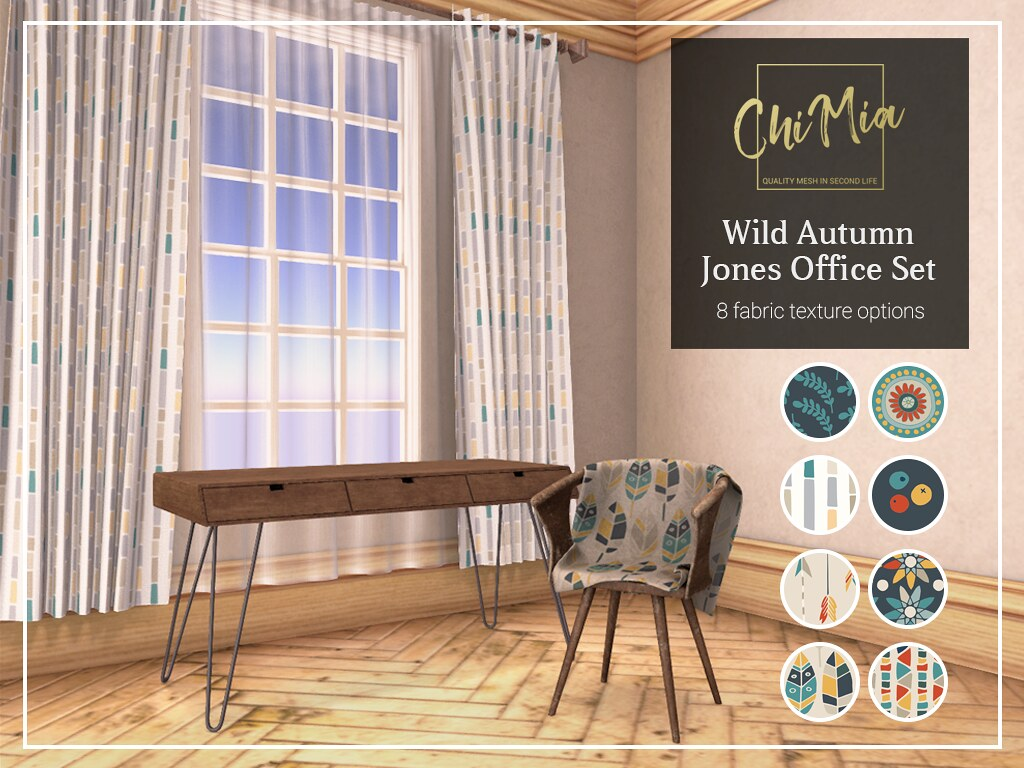 Wild Autumn Jones Office Set by ChiMia