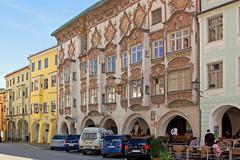 Wasserburg am Inn - Altstadt (08) - Kernhaus mit der Rokoko-Fassade