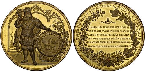 Austria Gambrinus Medal