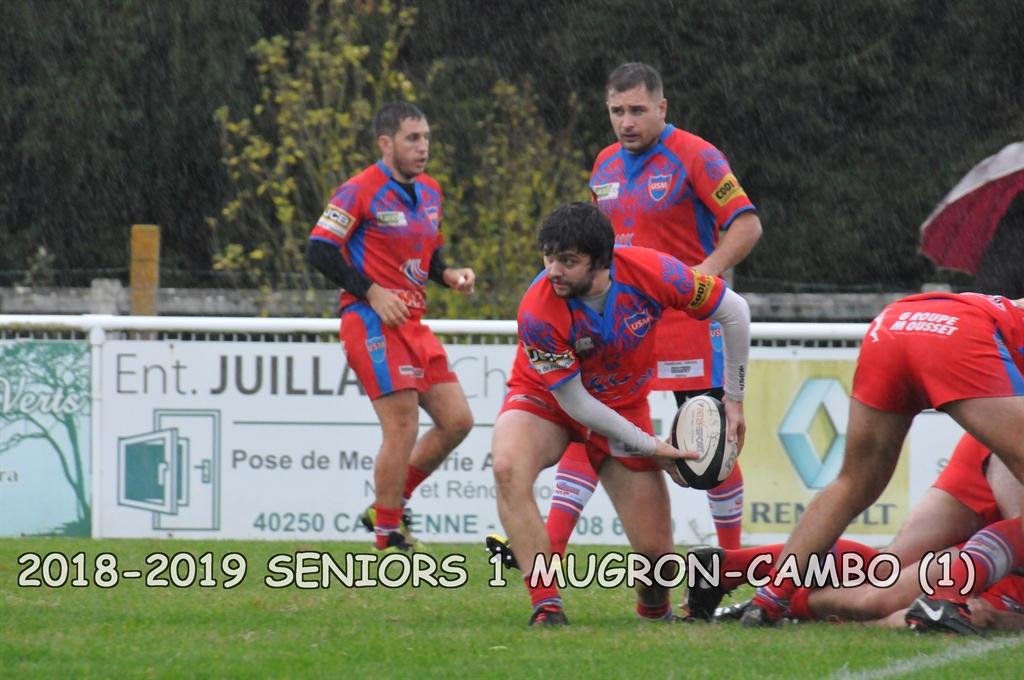 2018-2019 SENIORS 1 MUGRON - CAMBO