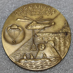 Apollo 16 Bronze Medal reverse