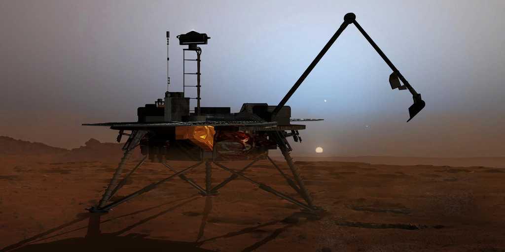 Mars : le chlorate permettrait de trouver de l'eau liquide
