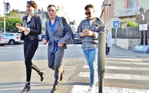 2018-09-28  Dinard Film Festival - Winterlong team - Rue Yves Vernet