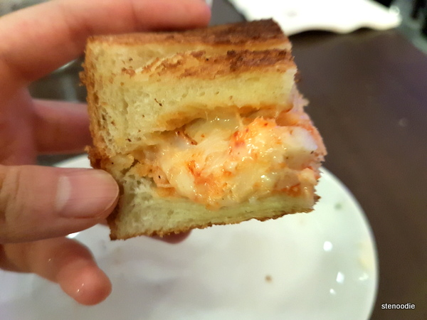 Draco's Lobster Grilled Cheese
