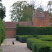 The Lodge at Castle Bromwich Hall - black cat