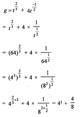 RD Sharma Mathematics Class 9 Solutions Chapter 2 Exponents of Real Numbers