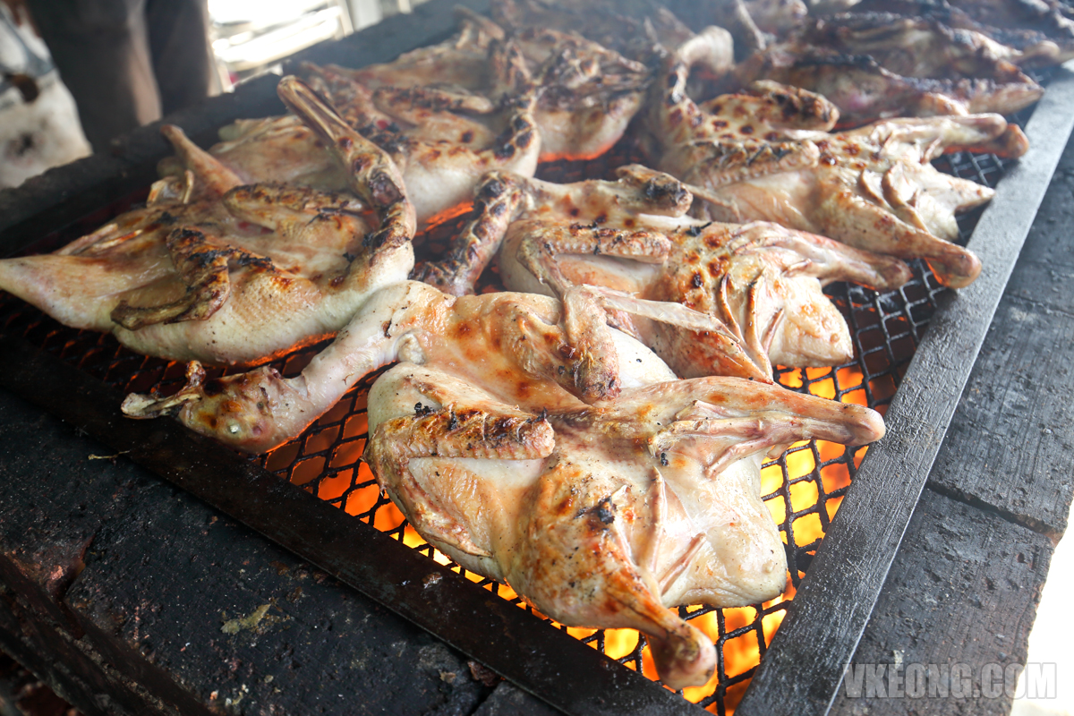 Barbecued Duck - Itik Salai