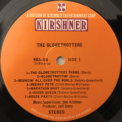THE GLOBRTROTTERS:THE GLOBRTROTTERS(LABEL SIDE-A)