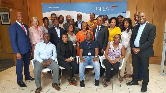 Training Workshop at University of South Africa, 25-27 September 2018