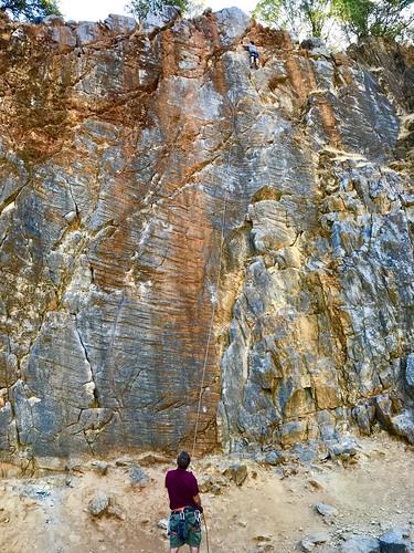 peakministry quarryroadtrail quarrytrail rockclimbing onbelay