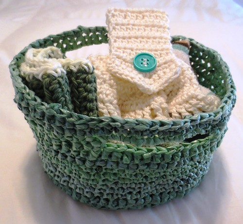 Crocheted Kitchen Set