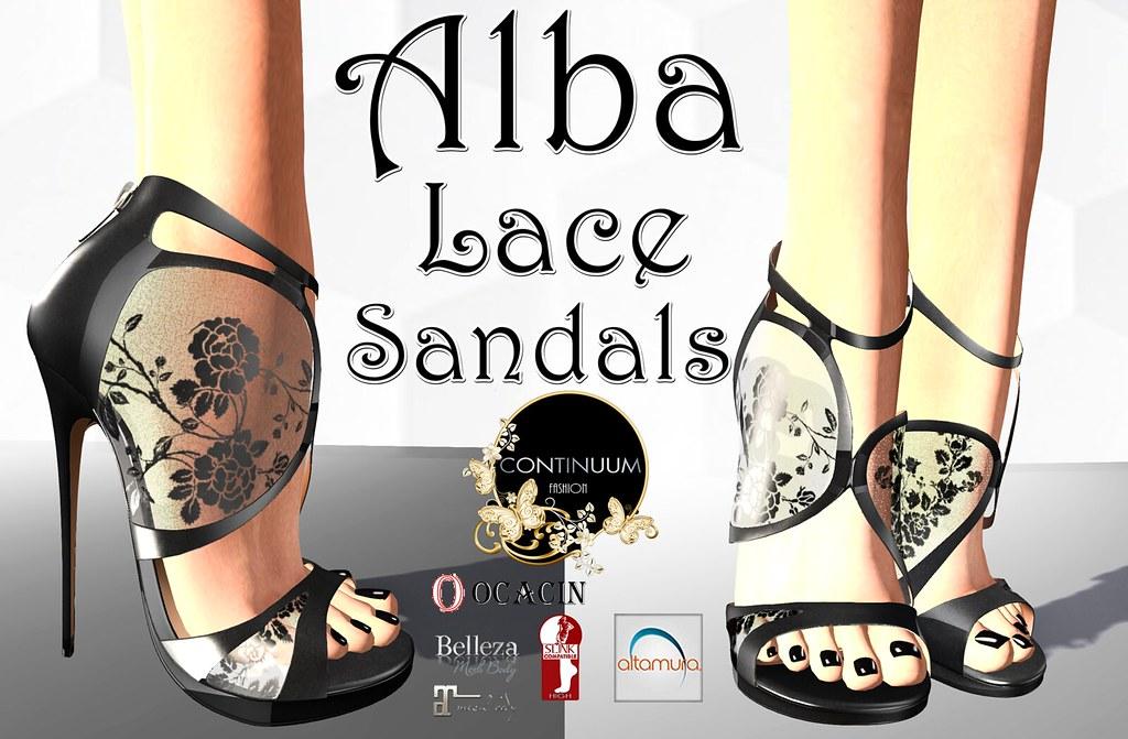 Continuum Alba Sandals - TeleportHub.com Live!