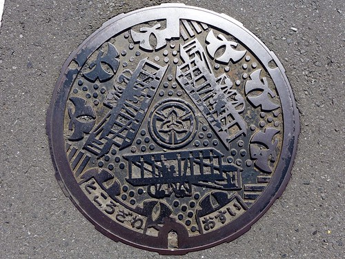 Tokorozawa Saitama, manhole cover 4 (埼玉県所沢市のマンホール4)