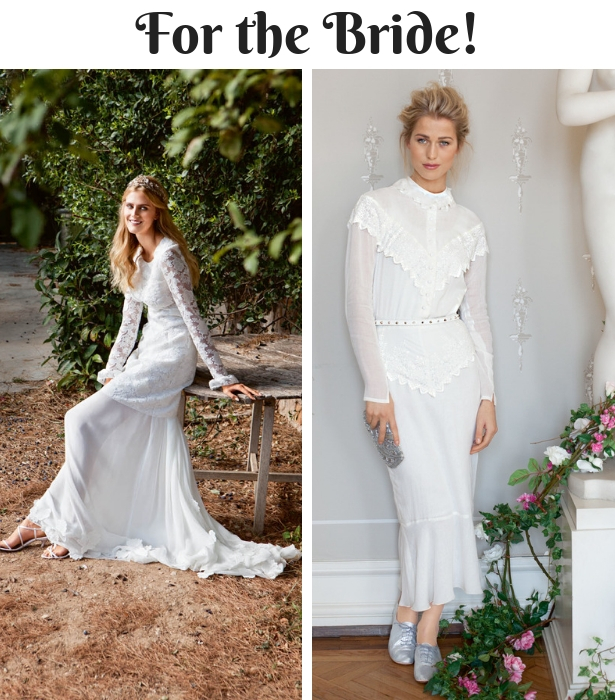 Fall Wedding Wear FOR THE BRIDE