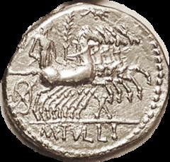 Tullius Roma Head reverse