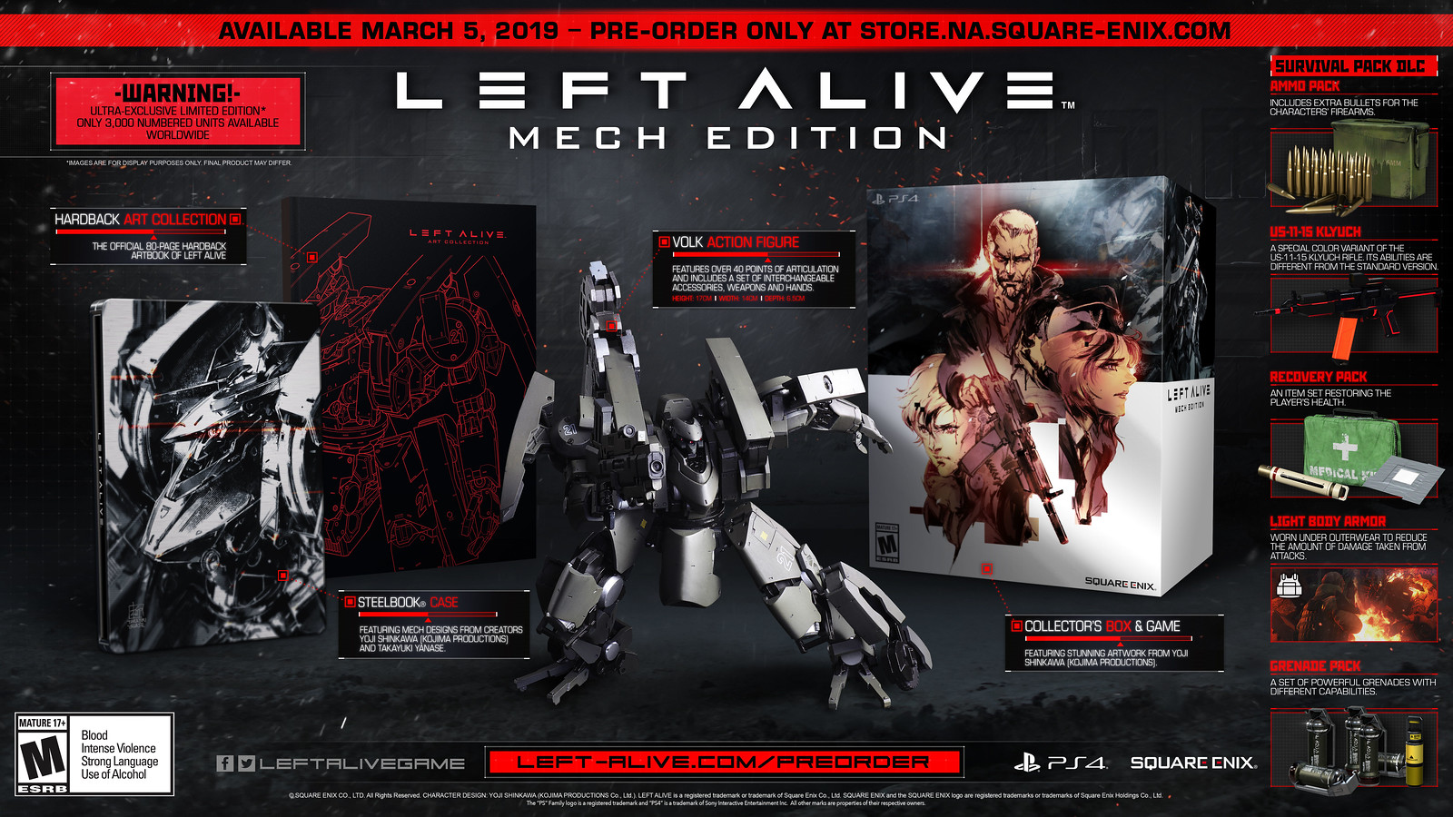 Left Alive: Mech Edition