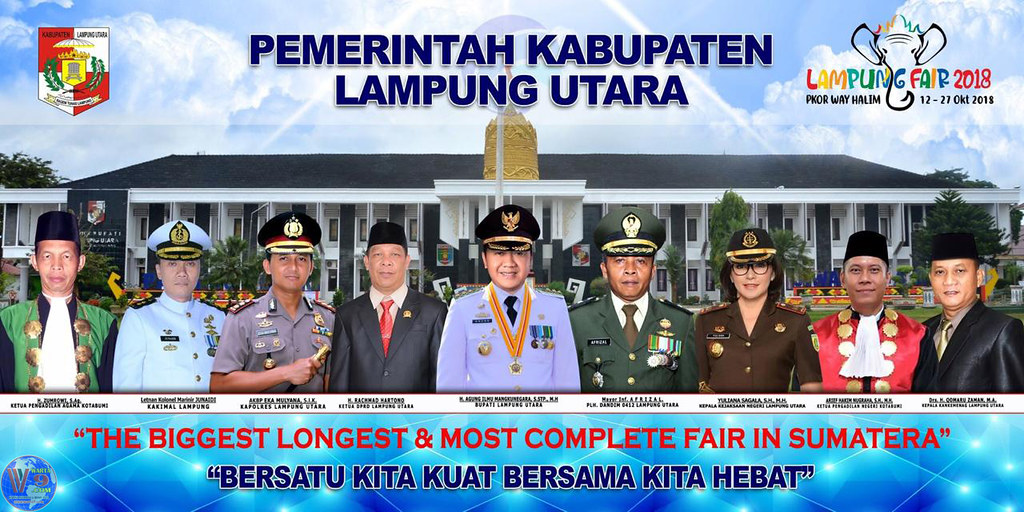 Lampung Fair 2018,  Lampung Utara Tampilkan Potensi Dan Prestasi Unggulan