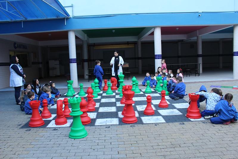 Aula diferenciada de Xadrez