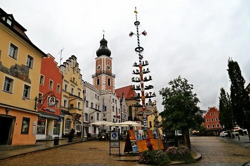 Cham mit St. Jakob Kirche