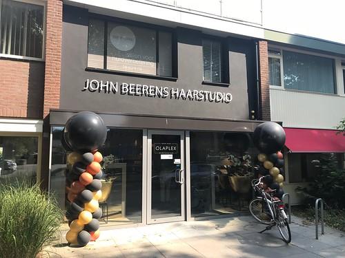 Ballonpilaar Breed Rond John Beerens Haarstudio Tilburg