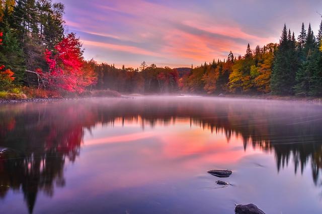 Reflection of fall, Nikon D800, AF-S VR Zoom-Nikkor 24-85mm f/3.5-4.5G IF-ED