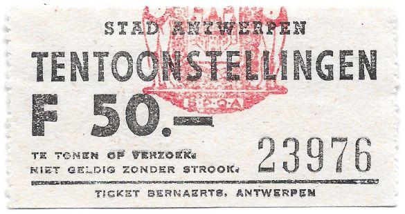 KaartjeStadAntwerpen1977