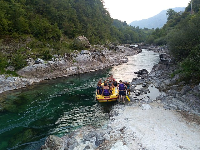 Neretva rafting white river