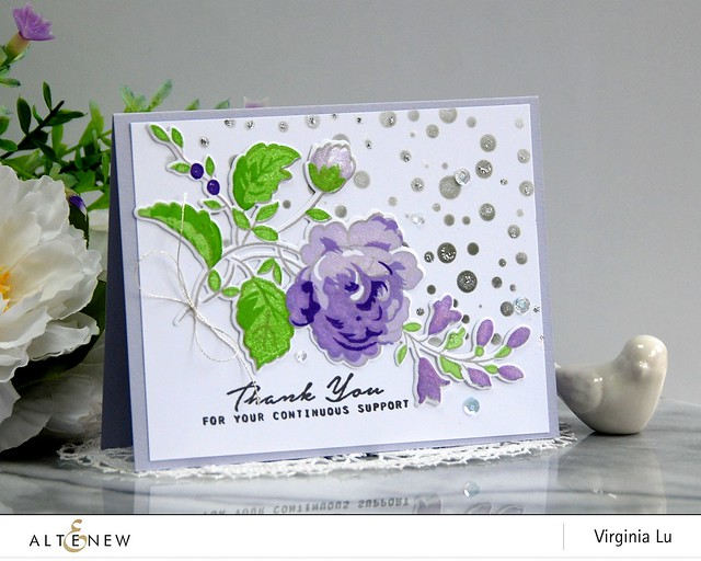 Altenew-NovemberInk-HandpickedBouquetStampDie-Virginia#1