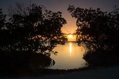 Sunset near Trinidad, Cuba