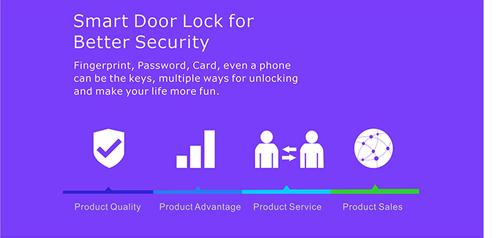 junteng electronic door lock
