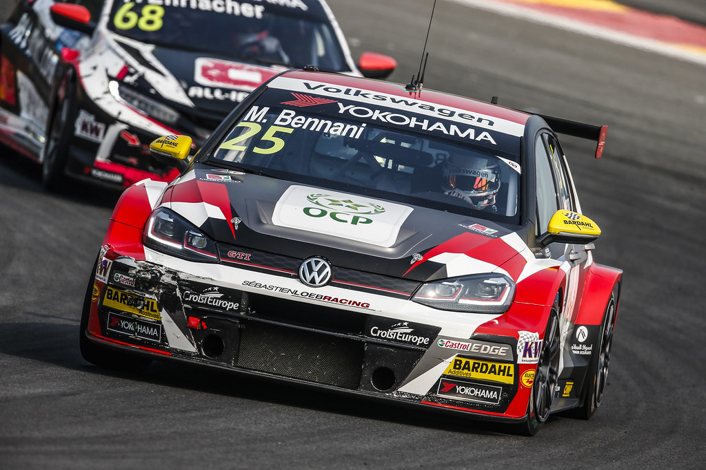 25 BENNANI Mehdi (mar), Volkswagen Golf GTI TCR team Sebastien Loeb Racing, action during the 2018 FIA WTCR World Touring Car cup of China, at Ningbo  from September 28 to 30 - Photo Jean Michel Le Meur / DPPI