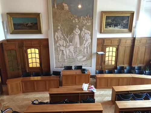 14 - Kronberg - Rathaus - Villa Bonn - Sitzungssaal