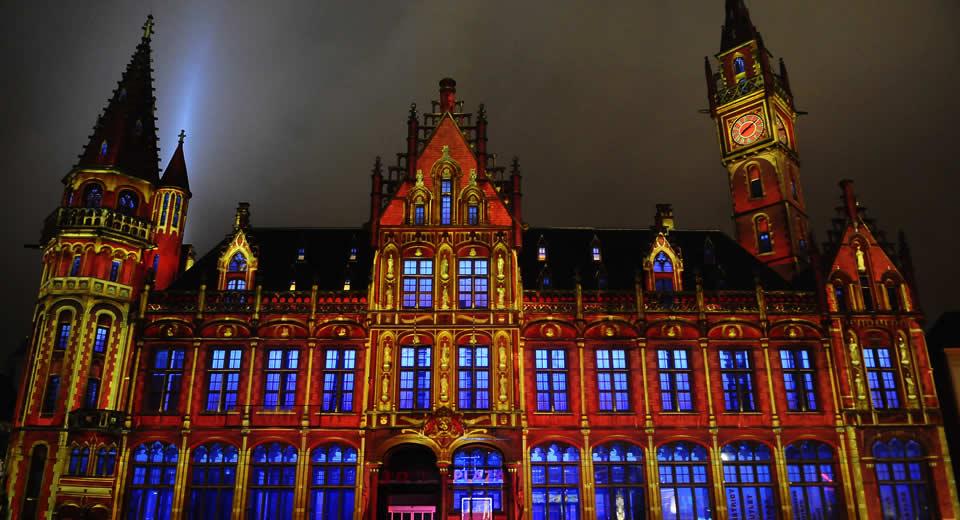 Lichtfestival in Gent | Mooistestedentrips.nl