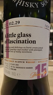 SMWS 112.29 - A little glass of fascination