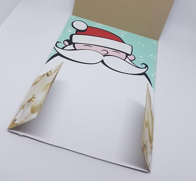 cat flap fold card