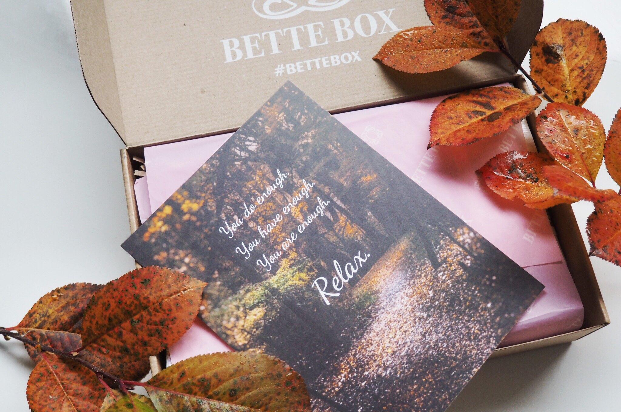 Lokakuun Bette Box